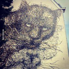Streetart in heerlen, the netherlands