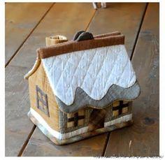 ARTESANATO COM QUIANE - Paps,Moldes,E.V.A,Feltro,Costuras,Fofuchas 3D: Molde casinha de costura