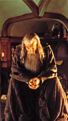 Gandalf...even true prophets and good wizards must be cautious of their gifts/skills going outside their boundaries