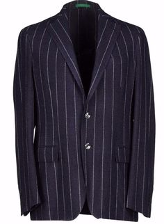 NW$1750  Pal Zileri Italian luxury beauty flannel sport coat 54/44(Special Sale) #PalZileri #TwoButton