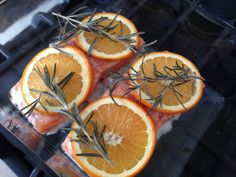 Orange Rosemary Salmon (4 ingredients) - Unconventional Kitchen::