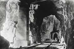 Quintette Tunnels on the KVR Railway near Othello in1917