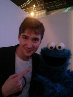 A Night Zookeeper and a Cookie Monster
