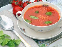 Simpele tomatensoep met vermicelli - Keuken♥Liefde