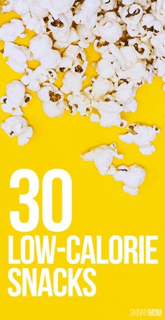 Enjoy 30 days of healthy, low-cal snacks!
