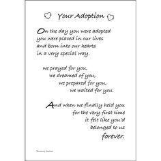 Dinglefoot's Scrapbooking - Adoption - Poem For A Page Sticker, $1.40 (http://www.dinglefoot.com/adoption-poem-for-a-page-sticker/)