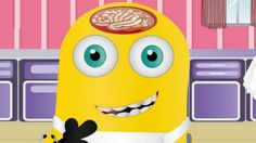 Los Minions - Minion Cirugia de Cabeza - Juegos Gratis Infantiles Online En Español