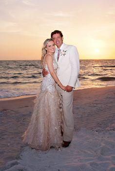 Stani Paul S Pretty In Pink Beach Wedding With The Bride Wearing Blush By Emma Burdis Photographymelissa Hearts Weddings Pinterest