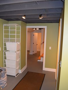 Basement +unfinished +basement Design, Pictures, Remodel, Decor and Ideas - page 5