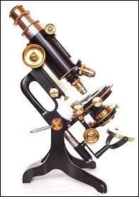 So beautiful!  --  The Steampunk Home: Antique Microscopes, Aged and Brass