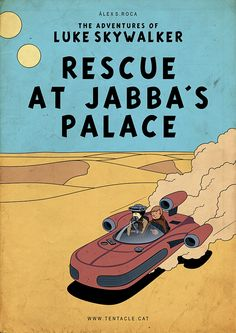 Star Wars: The Adventures of Luke Skywalker - Rescue at Jabba's Palace