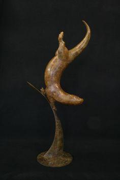 Adam Binder - Otter (bronze) David Shepherd Art for Survival Shop : Artwork Detail