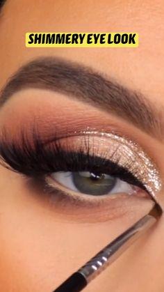 Eyebrow Makeup Tips, Eye Makeup Steps, Makeup Eye Looks, Eye Makeup Art, Smokey Eye Makeup, Skin Makeup, Eyeshadow Makeup, Beauty Makeup, Beauty Hacks Skincare