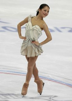 Akiko Suzuki  Ivory Skating / Ice Skating dress inspiration for Sk8 Gr8 Designs. - Google Search