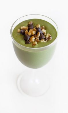 Think Mint Protein Smoothie