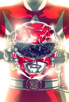 Mighty Morphin Power Rangers on Behance