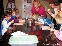 Girl Scout Troop 1138: Investiture, Rededication & Money Counts