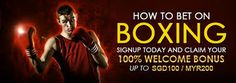 Online Bookmakers, Boxing Events, Betting Markets, Most Popular Sports, Book Sites, Sport Icon, Best Mobile, Muhammad Ali, Sports Betting