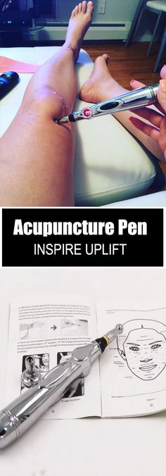 Laser Acupuncture Pen - ★★★★★ This pen is a painless, acupuncture-type stimulation which uses an electric pulse to activate tissues, firm sagging and aging skin, promote healthy blood circulation, detox the meridians and help to reduce muscle pain! Health And Beauty, Health And Wellness, Health Tips, Health Fitness, Alternative Health, Alternative Medicine, Muscle Pain, Massage Therapy, Natural Medicine