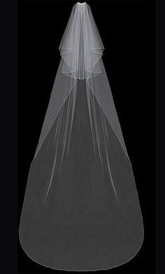 Two Tier Cathedral Wedding Veil enVogue V202C in white and ivory. Veil Diy, Diy Wedding Veil, Budget Wedding, Dream Wedding, Trendy Wedding, Wedding Dresses, Wedding Hair, Wedding Planning, Cathedral Wedding Veils