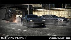 """Confira meu projeto do @Behance: """"Dodge Challenger SRT Hellcat 2015"""" https://www.behance.net/gallery/45739237/Dodge-Challenger-SRT-Hellcat-2015"""