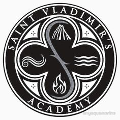 Vampire Academy logo black