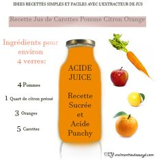 Jus Detox, Jus D'orange, Healthy Detox, Health Care, Juice, Nutrition, Inspiration Boards, Recipes, Smoothie