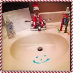 First day back to school after Thanksgiving Break a Fizbee decided the girls could use a little motivation :)  Keep up with our little Fizbee here.  If you are on the hunt for Elf on the Shelf