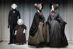 Trauerkleidung aus den 1830ern und 1840ern