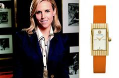Add chic to your style with a Tori Burch watch #classic #stylish www.HighFashionMagazine.com