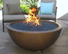 Oriflamme round hammered copper fire pit table all for Prefabricated fire pits