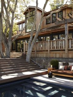 Deck Around A Tree Design, Pictures, Remodel, Decor and Ideas