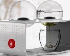Bodum Coffee and Team Maker - a stylish appliance that lets you watch the brewing process