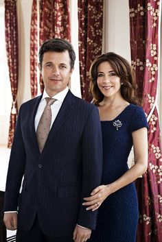 royalwatcher:  The Danish Court released photos to commemorate the 10th Wedding Anniversary of the Crown Princely Couple (married May 14, 2004)-Crown Prince Frederik and Crown Princess Mary