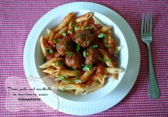 Penne #Pasta and #Meatballs  in Frank #Sinatra's #Italian Sauce