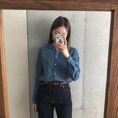 Daily Look, Korea, Photo And Video, How To Wear, Clothes, Instagram, Tops, Style, Fashion