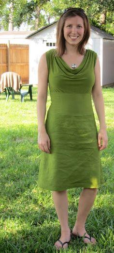corinnea's chaos: Bias Skirt linen & jersey with matching top