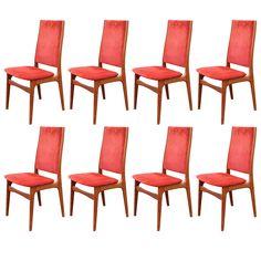 Eight Danish Dining Chairs