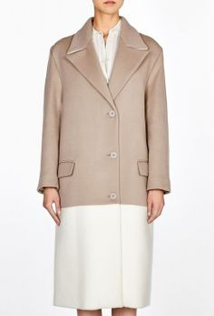 Exclusive Oversized Cut Through Coat by Richard Nicoll