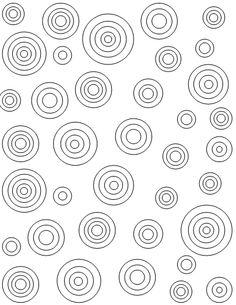 target circles printable coloring sheet more printable patterns