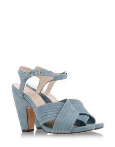 Tila March Sandal in Deep Jade, $250