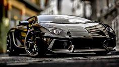 The Lamborghini Aventador in black proffers the appearance of sleek luxury - Emerging Magazine - MySpred