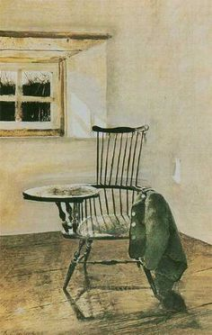Andrew Wyeth  Writing Chair