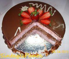 Τούρτα Lila Pause Cookbook Recipes, Cake Recipes, Dessert Recipes, Cooking Recipes, Party Desserts, No Bake Desserts, Sweets Cake, Cupcake Cakes, Cupcakes