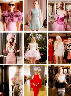 Chanel through the outfits