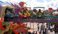 The Wacky Suess Landing in Universal Orlando's Islands of Adventure