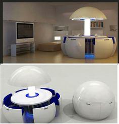 Kure Dining pod via Fascinating Engineering