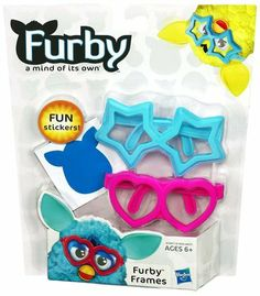 Furby Boom Pink & Blue Glasses
