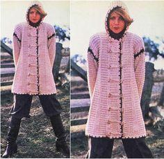 Ehi, ho trovato questa fantastica inserzione di Etsy su https://www.etsy.com/it/listing/246048895/knitting-cardigan-pattern-vintage-70s