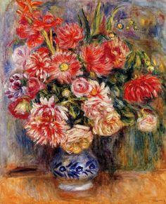 Bouquet by Pierre Auguste Renoir #art